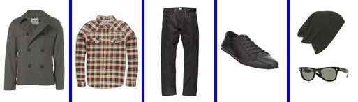 Images from - Topman, Forever 21, Paul Smith Jeans, Office, Topman, Rayban