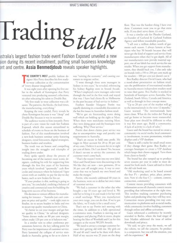 Ragtrader article