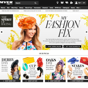 Can Myer and David Jones get online retailright?