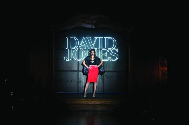 David Jones A/W 2014 Collection Launch - Runway