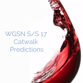 WGSN S/S 17 Catwalk Predictions