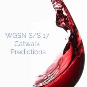 WGSN S/S 17 CatwalkPredictions