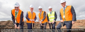 Toll and Specialty Fashion Group break ground on new retail distribution centre