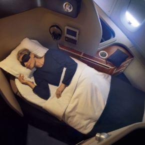 Qantas unveils new first class designerpyjamas